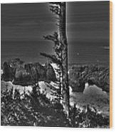 Arch Rock Oregon Coast Wood Print