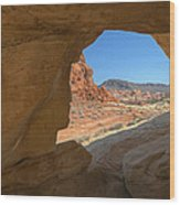 Arch Valley Of Fire Wood Print