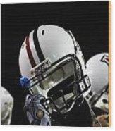 Arizona Football Helmets Wood Print