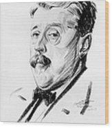 Arnold Bennett (1867-1931) Wood Print