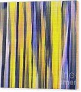Art Abstract Work Wood Print