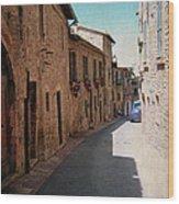 Assisi Italy Wood Print