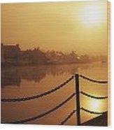Athlone, County Westmeath, Ireland Dock Wood Print