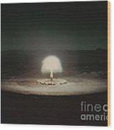 Atomic Bomb Test Wood Print