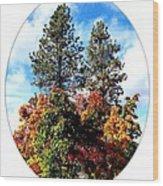 Autumn Beginnings Wood Print