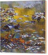 Autumn Voyage Wood Print