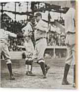 Babe Ruth (1895-1948) Wood Print
