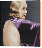 Baby Face, Barbara Stanwyck, 1933 Wood Print by Everett