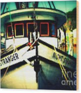 Back In The Harbor Wood Print