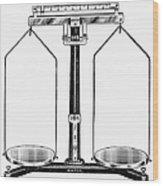Balance, 20th Century Wood Print