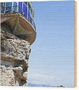 Balcon De Europa In Nerja Wood Print