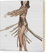 Ball Of Fire, Barbara Stanwyck, 1941 Wood Print