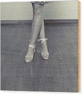 Ballerinas Wood Print by Joana Kruse