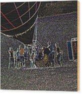 Balloon Dreamscape  7 Wood Print