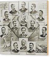 Baseball, 1894 Wood Print