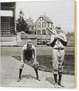 Baseball: Princeton, 1901 Wood Print