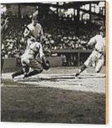 Baseball: Washington, 1925 Wood Print