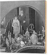 Bedroom Scene, 1920s Wood Print