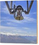 Bell In Heaven Wood Print by Joana Kruse