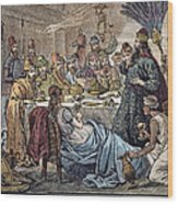 Belshazzars Feast Wood Print