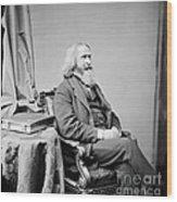 Benjamin Peirce, American Mathematician Wood Print