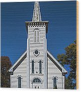 Bethesda Lutheran Church Wood Print