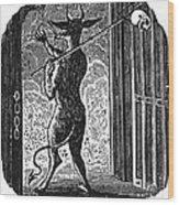 Bewick: Devil Wood Print by Granger