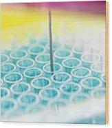 Biochemistry Research Wood Print