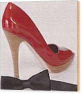 Black Tie Affair Wood Print by Anne Kitzman