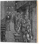 Blackwells Island, 1876 Wood Print