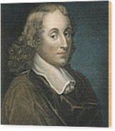 Blaise Pascal (1623-1662) Wood Print
