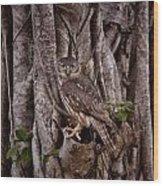 Blending In V3 Wood Print