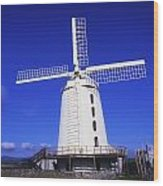 Blennerville Windmill, Tralee, Co Wood Print