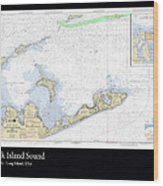 Block Island Sound Wood Print