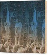 Bob Weir Grateful Dead 74 Dsm Ia Wood Print