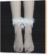 Bonded Legs Wood Print