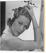 Born To Dance, Eleanor Powell, 1936 Wood Print by Everett