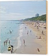 Bournemouth Beaches Wood Print
