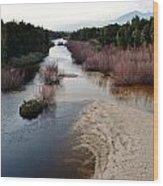 Breede River Wood Print