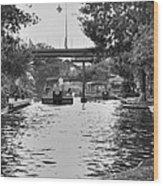 Bricktown Canal Wood Print