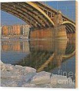Bridge Wood Print by Odon Czintos