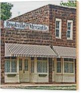 Brookville Mercantile Wood Print