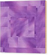 Brushed Purple Violet 3 Wood Print
