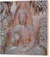 Buddha Image  Wood Print