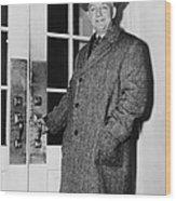 Byron Price 1891-1981 Director Of Wood Print