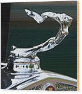 Cadillac Hood Ornament Wood Print