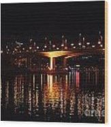Cambie Street Bridge Wood Print