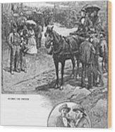 Canada: Church, 1883 Wood Print
