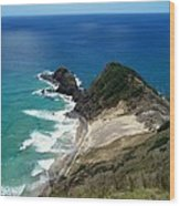 Cape Reinga - North Island Wood Print