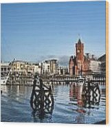 Cardiff Bay Panorama Wood Print